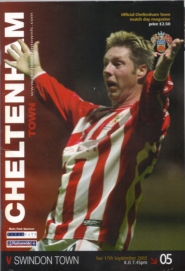 Tuesday, September 17, 2002 - vs. Cheltenham Town (Away)