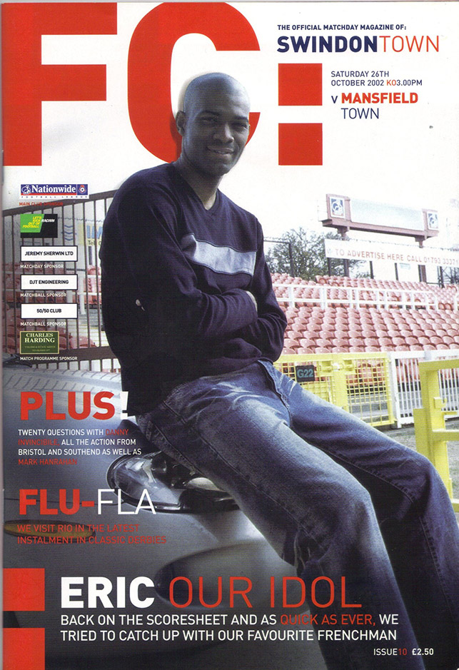 Saturday, October 26, 2002 - vs. Mansfield Town (Home)