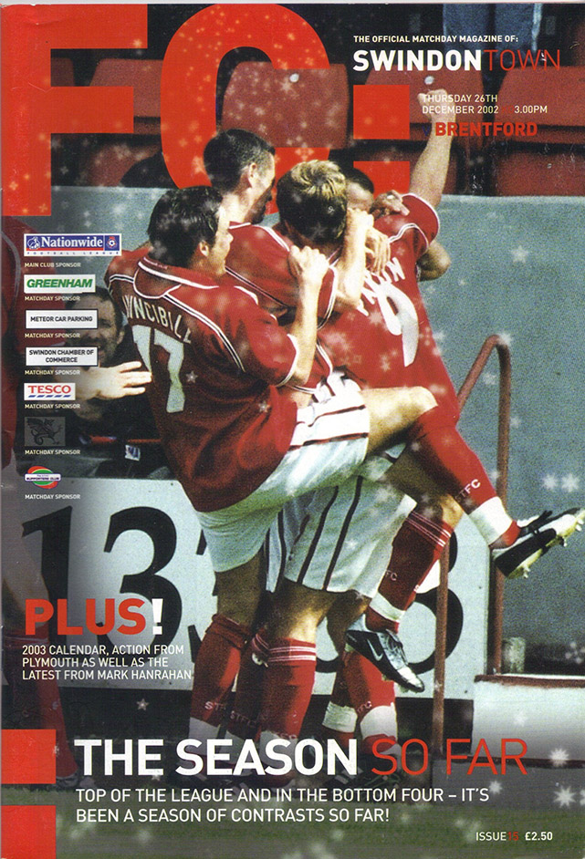 Thursday, December 26, 2002 - vs. Brentford (Home)
