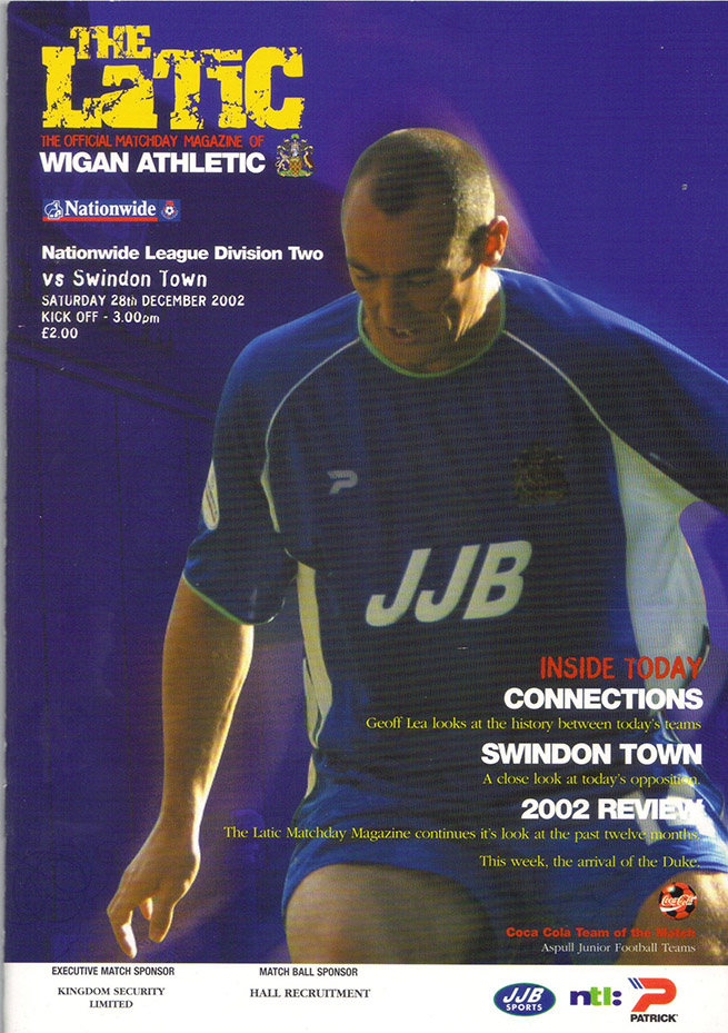 Saturday, December 28, 2002 - vs. Wigan Athletic (Away)