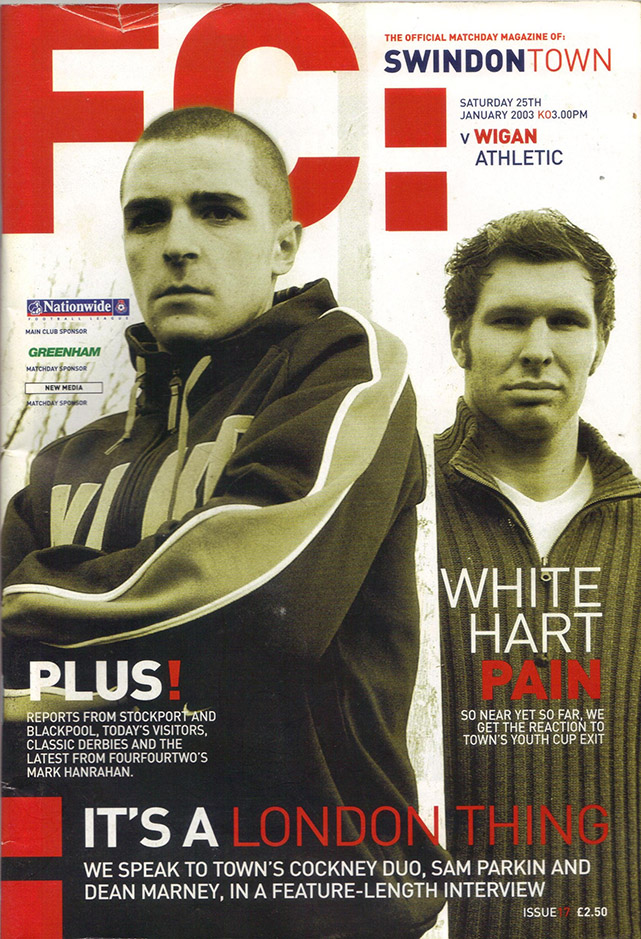 Saturday, January 25, 2003 - vs. Wigan Athletic (Home)