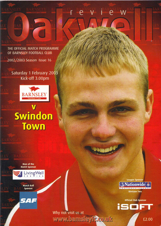 Saturday, February 1, 2003 - vs. Barnsley (Away)