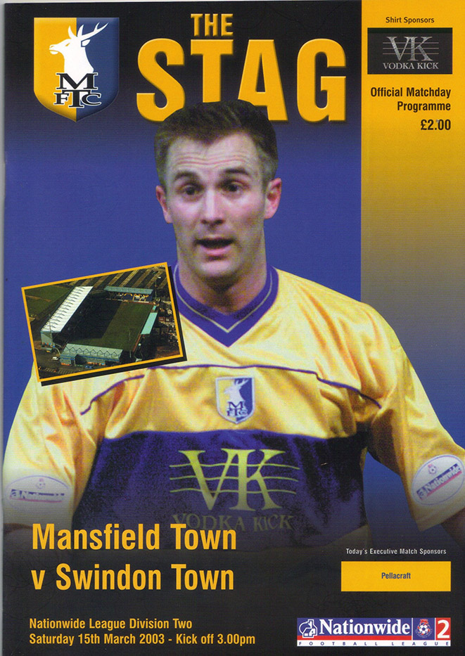 Saturday, March 15, 2003 - vs. Mansfield Town (Away)