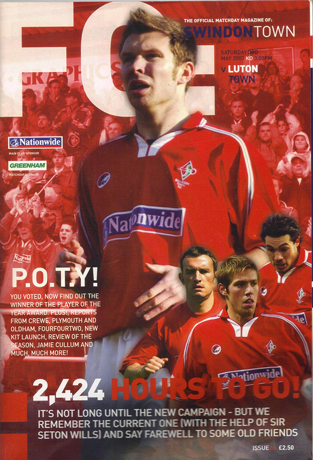 Saturday, May 3, 2003 - vs. Luton Town (Home)