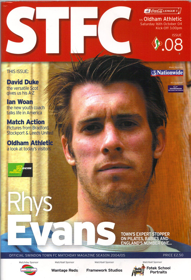 <b>Saturday, October 16, 2004</b><br />vs. Oldham Athletic (Home)