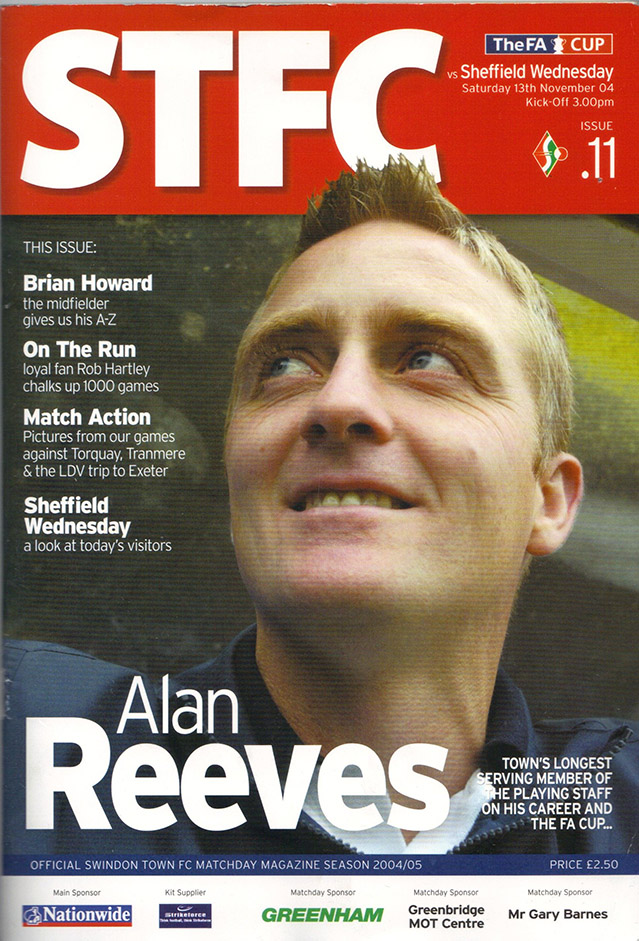 <b>Saturday, November 13, 2004</b><br />vs. Sheffield Wednesday (Home)