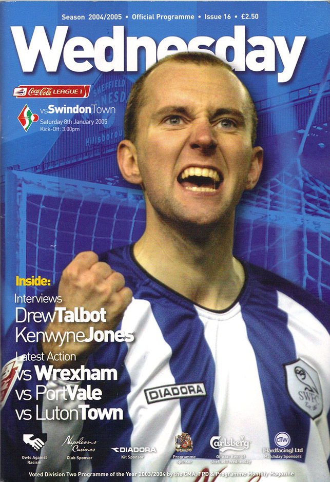 <b>Saturday, January 8, 2005</b><br />vs. Sheffield Wednesday (Away)
