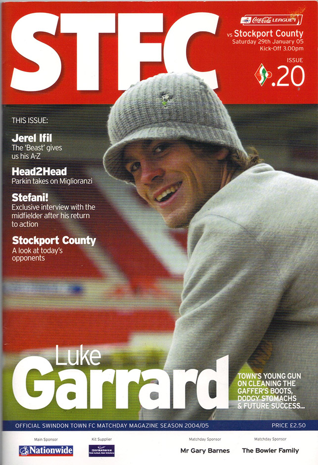<b>Saturday, January 29, 2005</b><br />vs. Stockport County (Home)