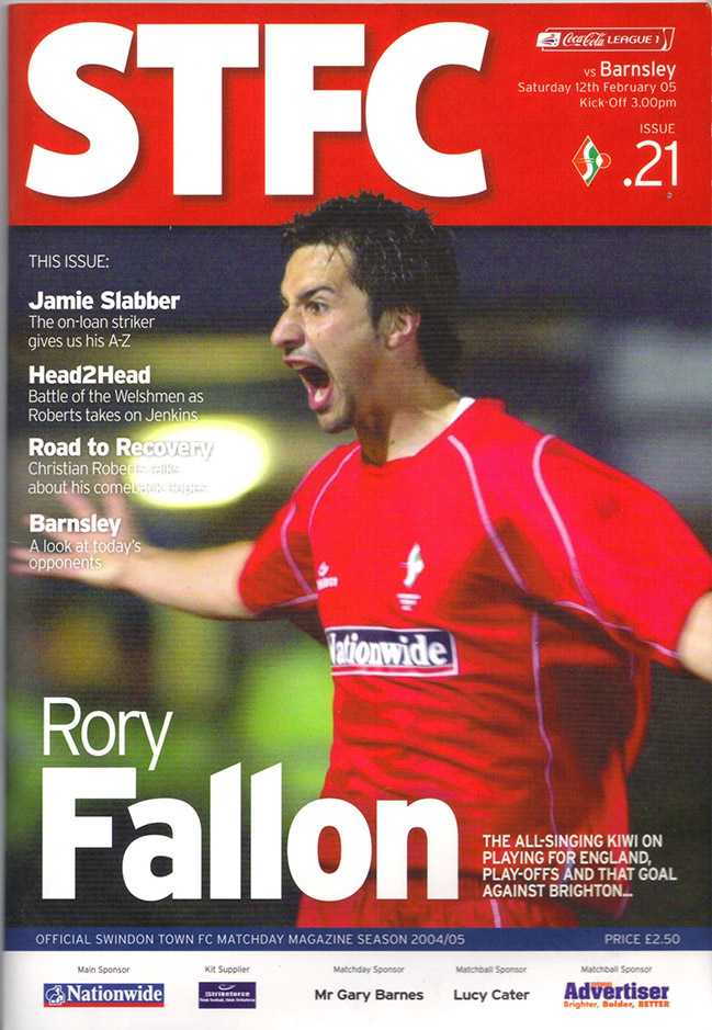 <b>Saturday, February 12, 2005</b><br />vs. Barnsley (Home)