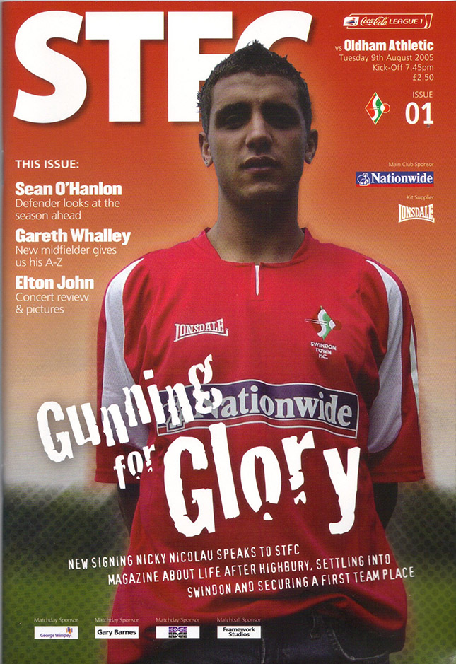 Tuesday, August 9, 2005 - vs. Oldham Athletic (Home)