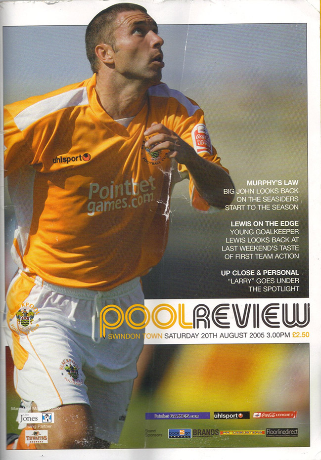 Saturday, August 20, 2005 - vs. Blackpool (Away)