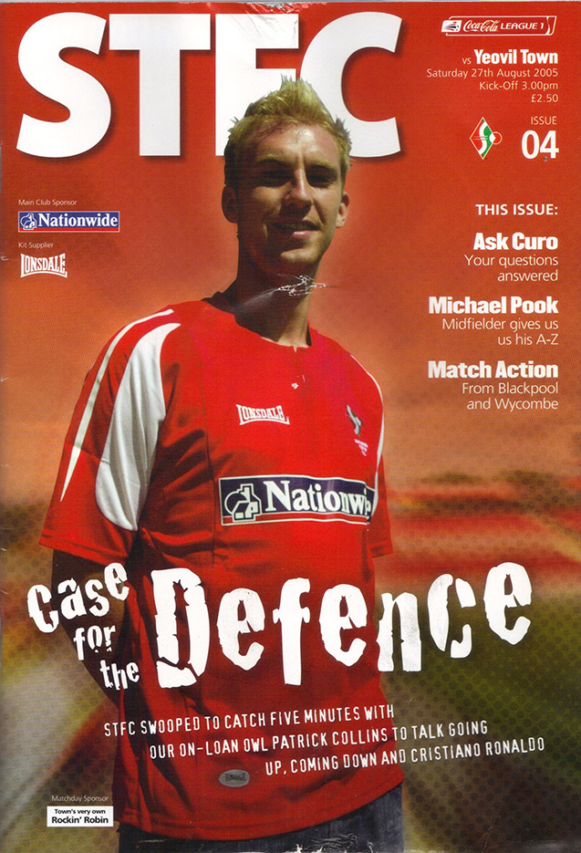 Saturday, August 27, 2005 - vs. Yeovil Town (Home)