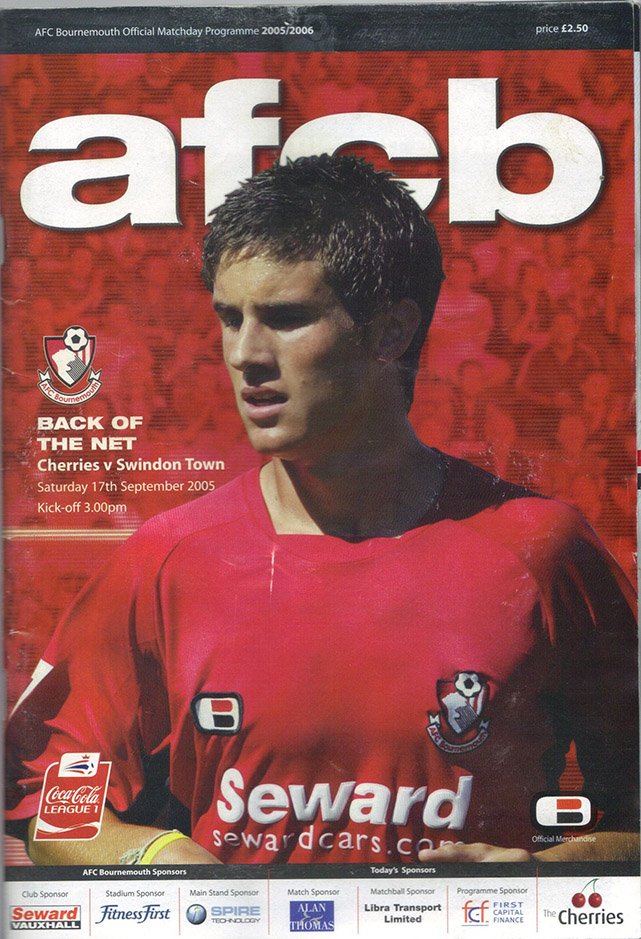 Saturday, September 17, 2005 - vs. AFC Bournemouth (Away)