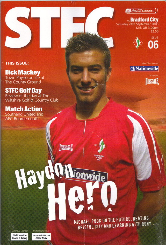 Saturday, September 24, 2005 - vs. Bradford City (Home)