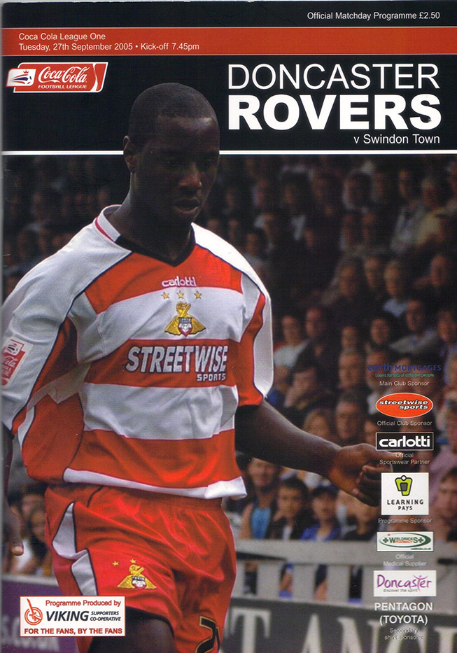 Tuesday, September 27, 2005 - vs. Doncaster Rovers (Away)