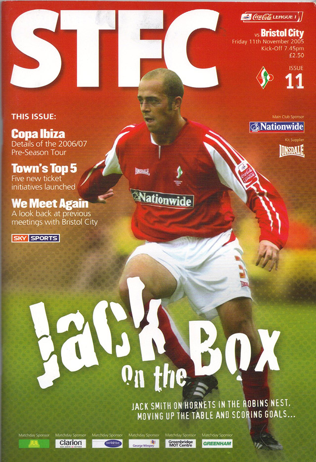 Friday, November 11, 2005 - vs. Bristol City (Home)