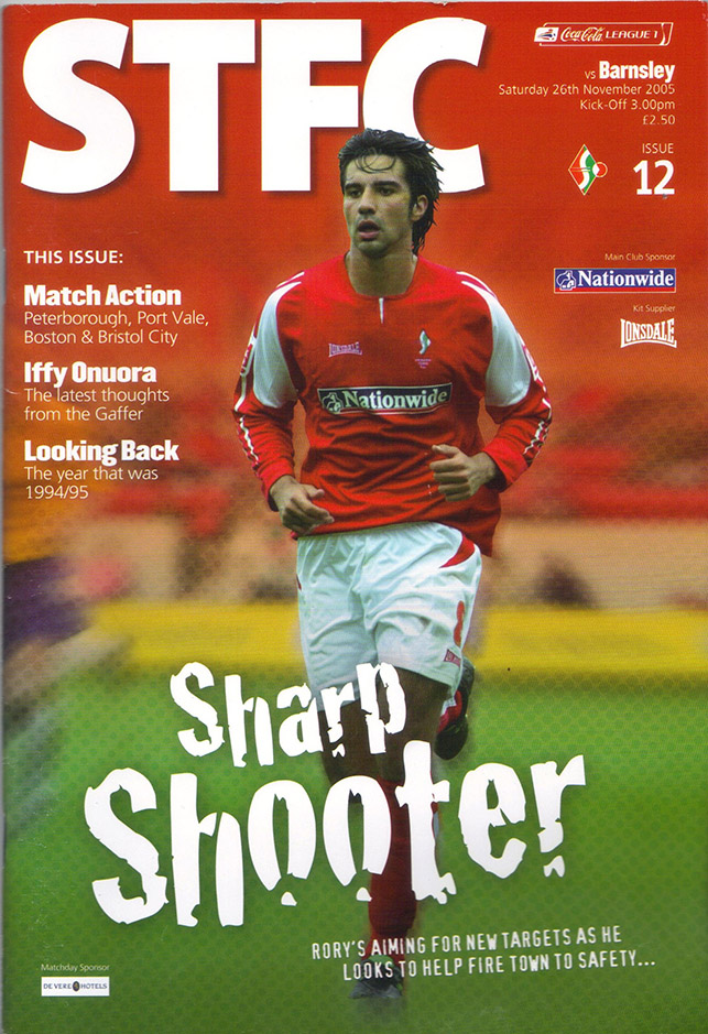 Saturday, November 26, 2005 - vs. Barnsley (Home)