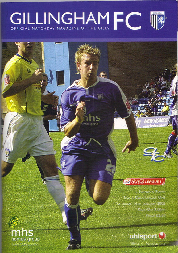 Saturday, January 14, 2006 - vs. Gillingham (Away)