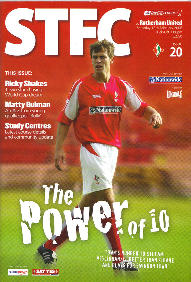 Saturday, February 18, 2006 - vs. Rotherham United (Home)