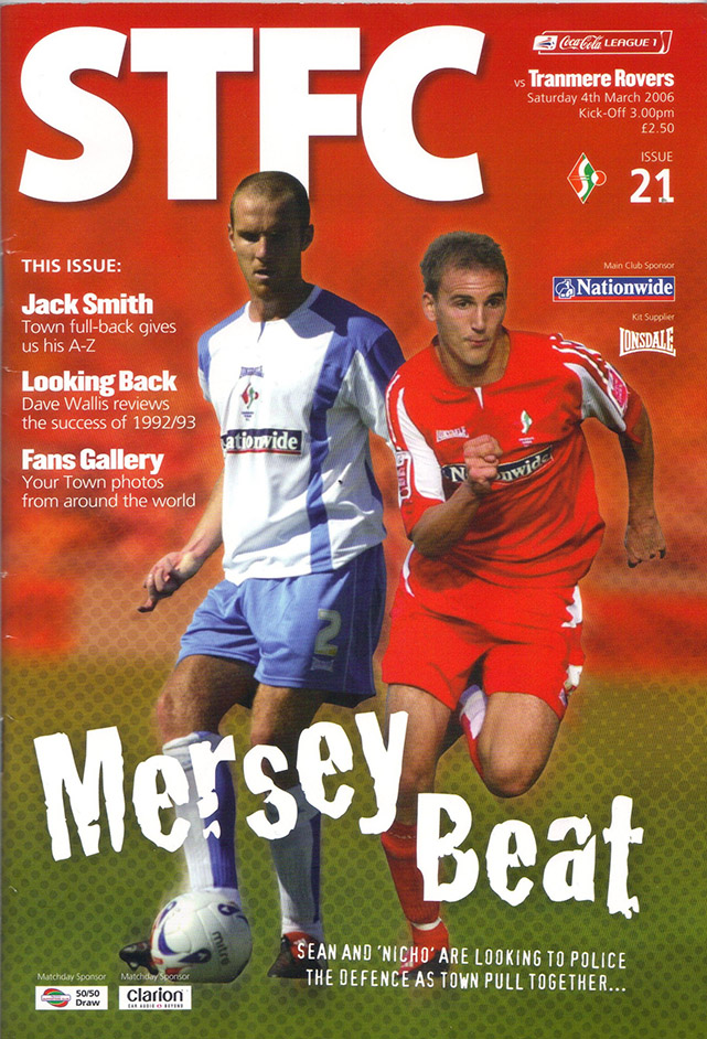 Tuesday, March 7, 2006 - vs. Tranmere Rovers (Home)