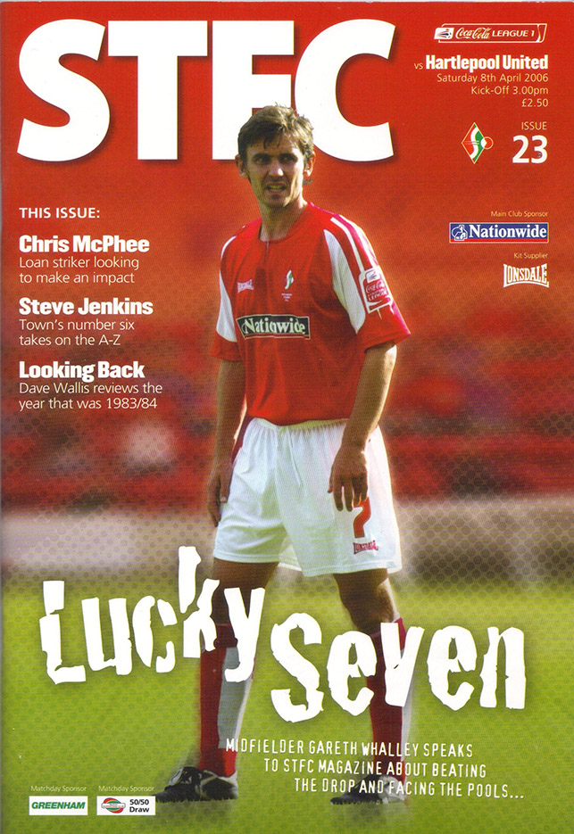 Saturday, April 8, 2006 - vs. Hartlepool United (Home)