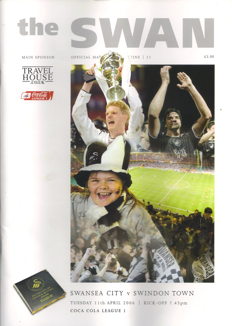 Tuesday, April 11, 2006 - vs. Swansea City (Away)