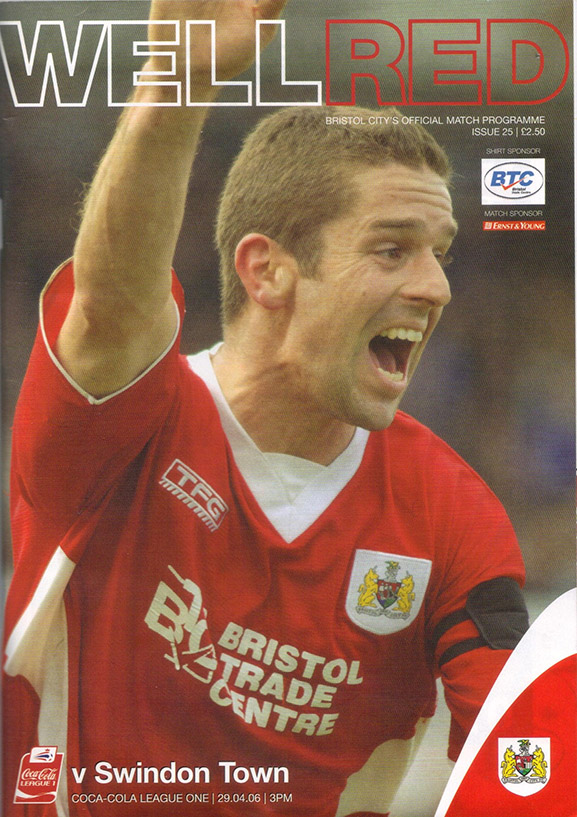 Saturday, April 29, 2006 - vs. Bristol City (Away)