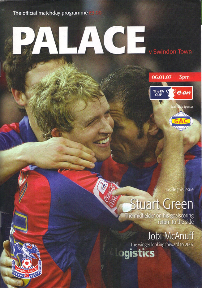 Saturday, January 6, 2007 - vs. Crystal Palace (Away)