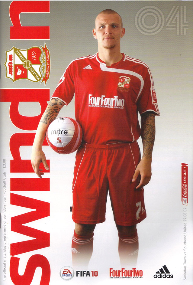 <b>Saturday, August 29, 2009</b><br />vs. Southend United (Home)
