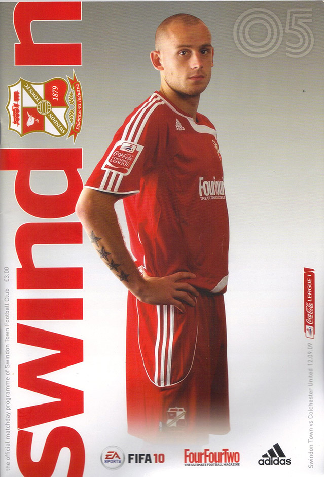 <b>Saturday, September 12, 2009</b><br />vs. Colchester United (Home)