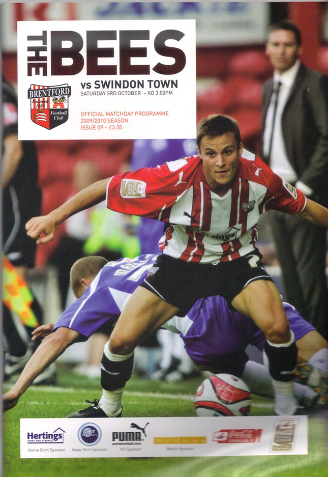 <b>Saturday, October 3, 2009</b><br />vs. Brentford (Away)