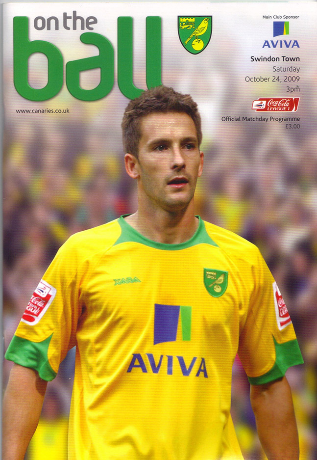 <b>Saturday, October 24, 2009</b><br />vs. Norwich City (Away)