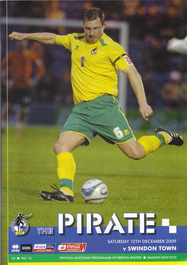 <b>Saturday, December 12, 2009</b><br />vs. Bristol Rovers (Away)
