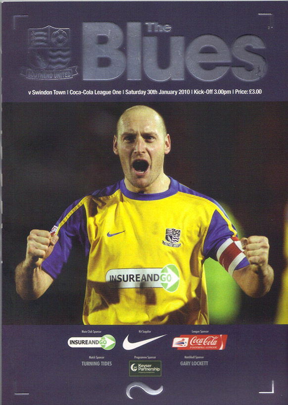<b>Saturday, January 30, 2010</b><br />vs. Southend United (Away)
