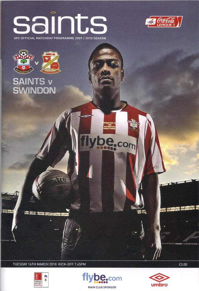 <b>Tuesday, March 16, 2010</b><br />vs. Southampton (Away)