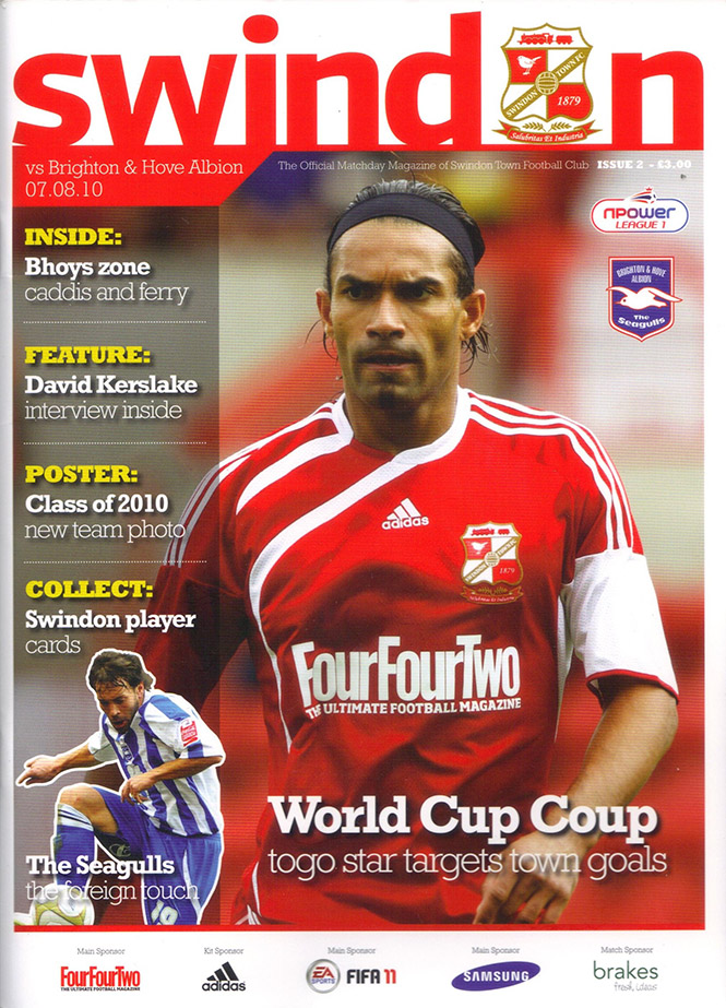 <b>Saturday, August 7, 2010</b><br />vs. Brighton and Hove Albion (Home)