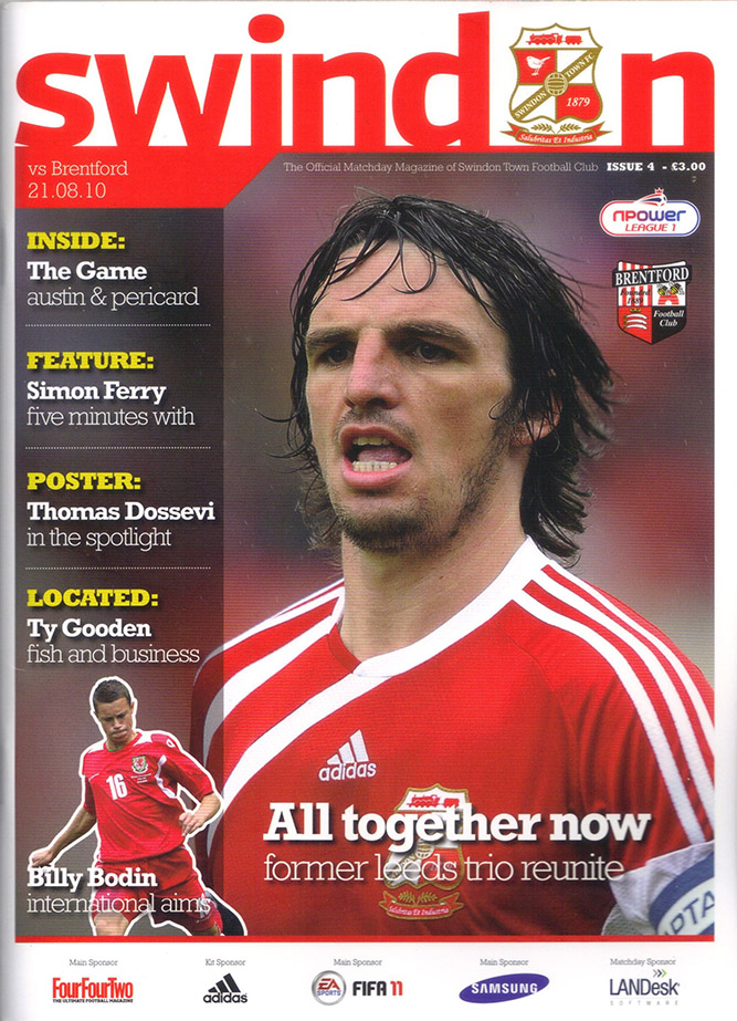 <b>Saturday, August 21, 2010</b><br />vs. Brentford (Home)