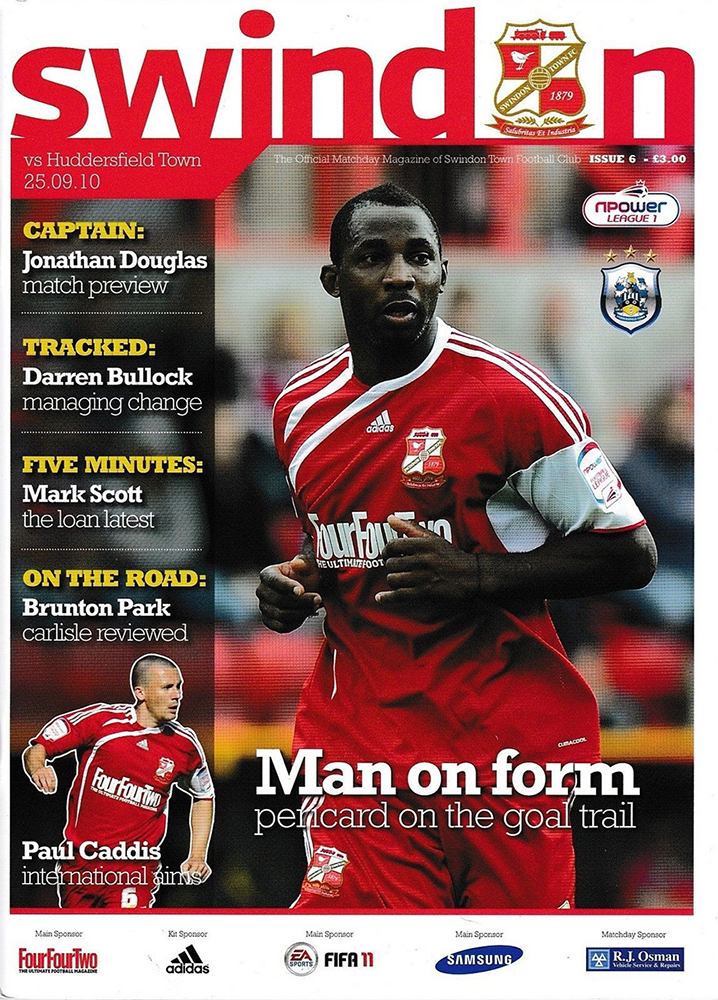 <b>Saturday, September 25, 2010</b><br />vs. Huddersfield Town (Home)