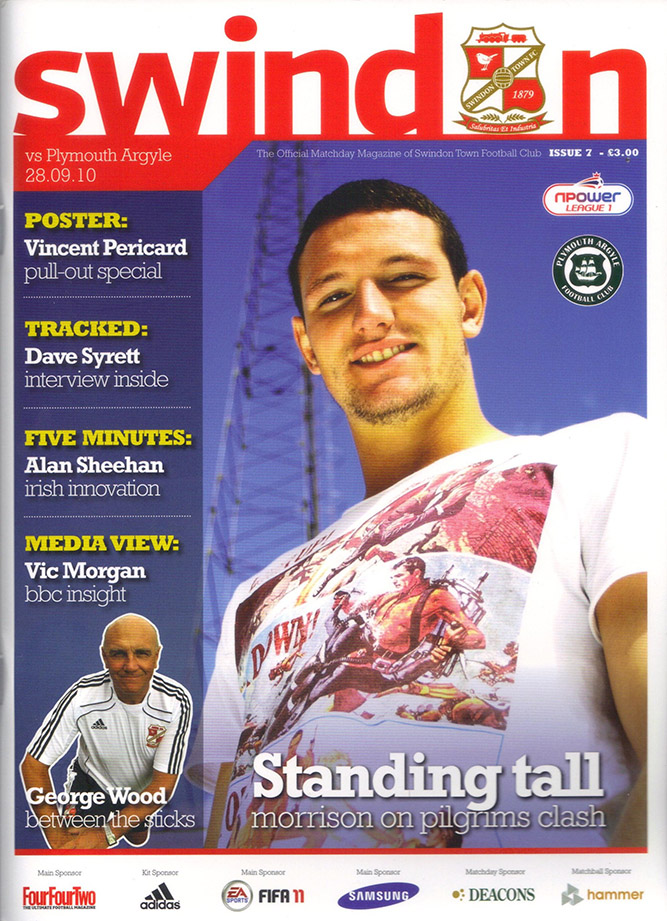 <b>Tuesday, September 28, 2010</b><br />vs. Plymouth Argyle (Home)