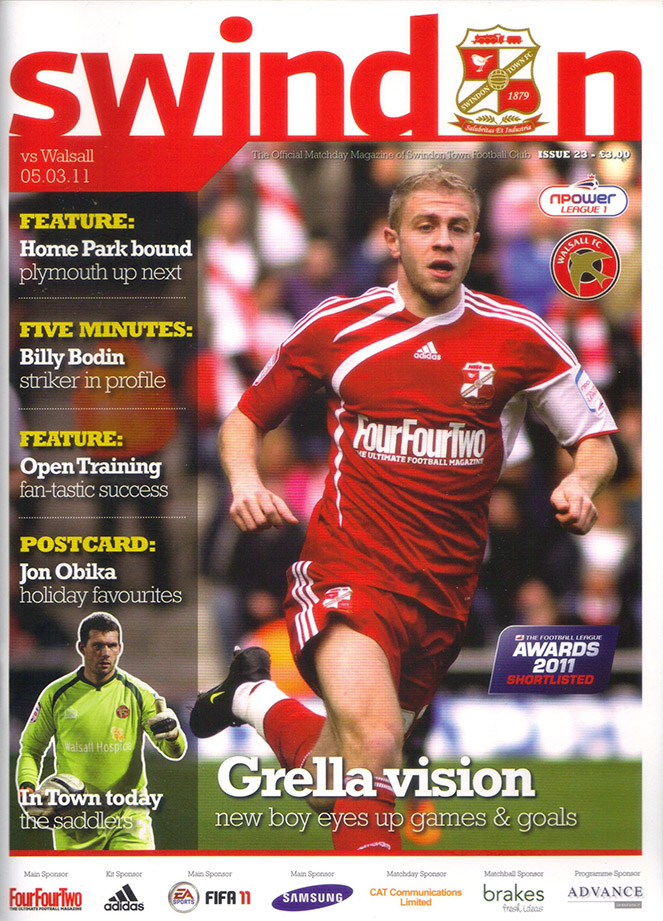 <b>Saturday, March 5, 2011</b><br />vs. Walsall (Home)