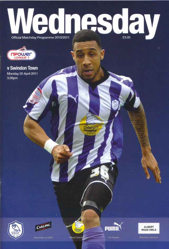 <b>Monday, April 25, 2011</b><br />vs. Sheffield Wednesday (Away)