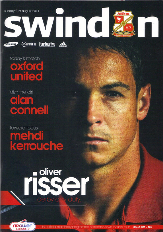 <b>Sunday, August 21, 2011</b><br />vs. Oxford United (Home)