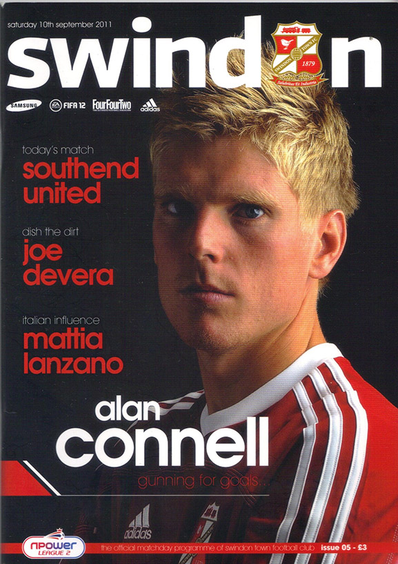 <b>Saturday, September 10, 2011</b><br />vs. Southend United (Home)
