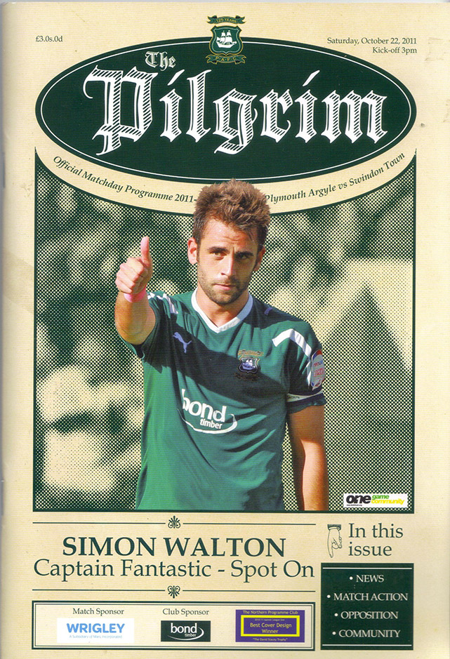 <b>Saturday, October 22, 2011</b><br />vs. Plymouth Argyle (Away)