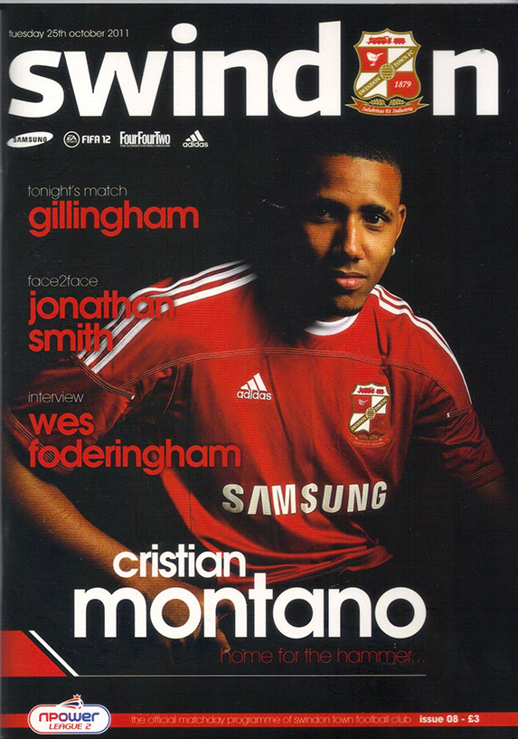 <b>Tuesday, October 25, 2011</b><br />vs. Gillingham (Home)
