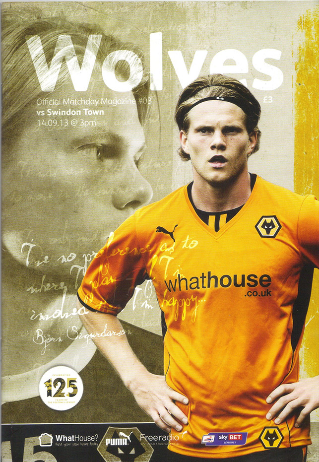 <b>Saturday, September 14, 2013</b><br />vs. Wolverhampton Wanderers (Away)