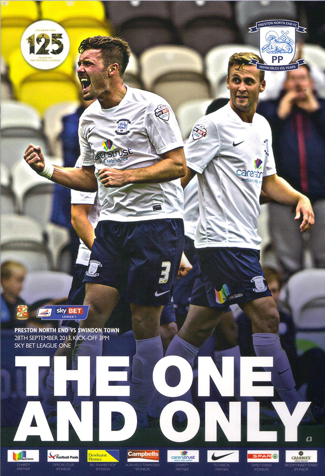 <b>Saturday, September 28, 2013</b><br />vs. Preston North End (Away)
