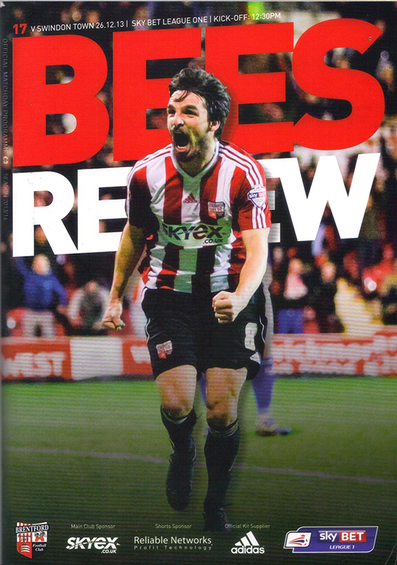 <b>Thursday, December 26, 2013</b><br />vs. Brentford (Away)