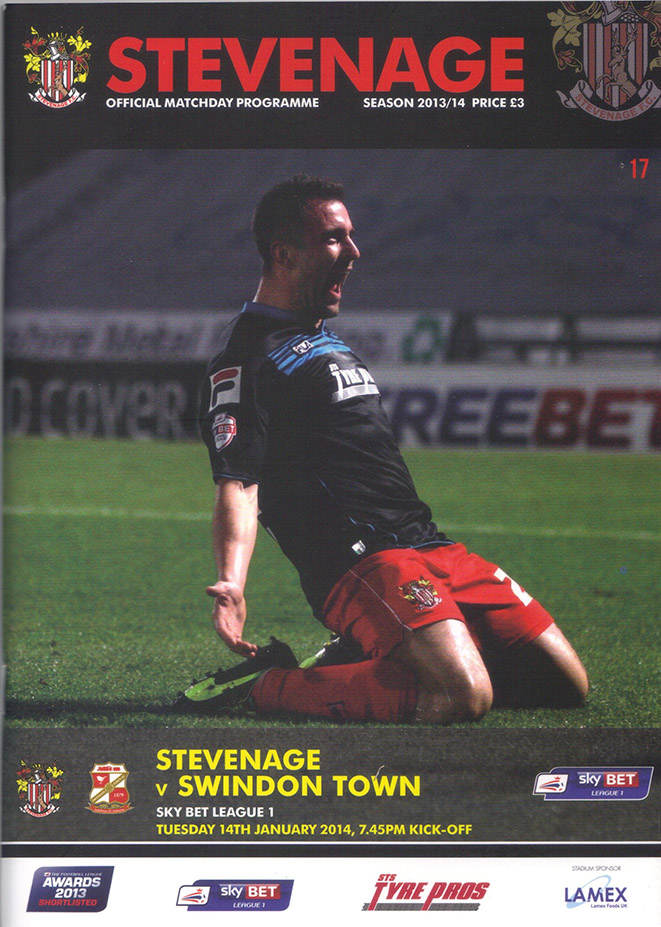 Tuesday, January 14, 2014 - vs. Stevenage (Away)