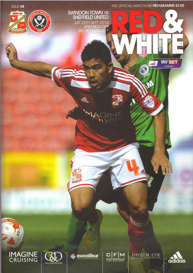 <b>Saturday, September 20, 2014</b><br />vs. Sheffield United (Home)